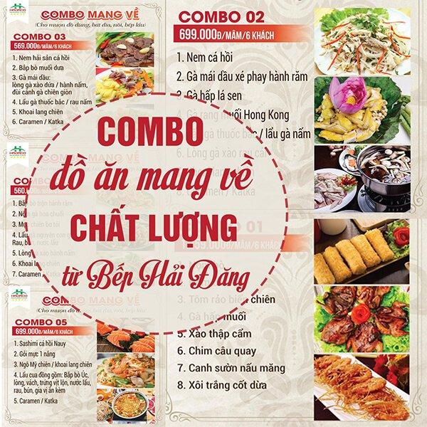 set combo mang ve chat luong tu bep hai dang