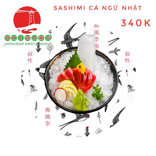 sashimi ca ngu nhat
