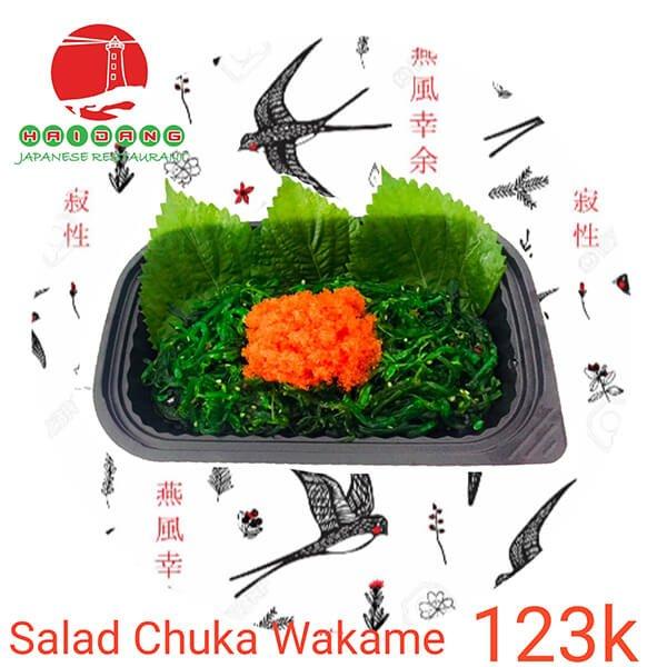 salad chuka wakame